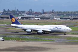 やまモンさんが、羽田空港で撮影したルフトハンザドイツ航空 747-830の航空フォト(飛行機 写真・画像)
