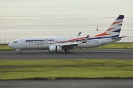 sky-spotterさんが、羽田空港で撮影したスマート・ウイングス 737-8Q8の航空フォト(飛行機 写真・画像)