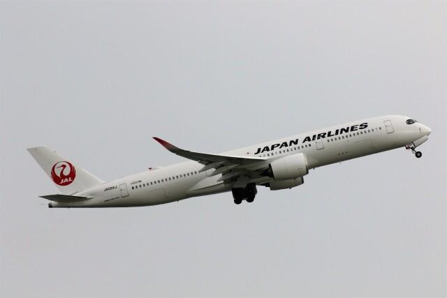 PW4090さんが、関西国際空港で撮影した日本航空 A350-941の航空フォト(飛行機 写真・画像)