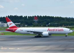じーく。さんが、成田国際空港で撮影したオーストリア航空 777-2Z9/ERの航空フォト(飛行機 写真・画像)