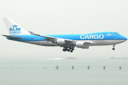jun☆さんが、香港国際空港で撮影したKLMオランダ航空 747-406F/ER/SCDの航空フォト(飛行機 写真・画像)