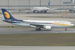 jun☆さんが、香港国際空港で撮影したジェットエアウェイズ A330-202の航空フォト(飛行機 写真・画像)