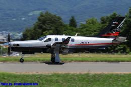 Chofu Spotter Ariaさんが、松本空港で撮影した日本個人所有 TBM-940 (700N)の航空フォト(飛行機 写真・画像)
