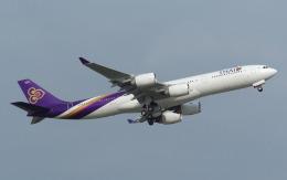 hs-tgjさんが、ドンムアン空港で撮影したタイ国際航空 A340-541の航空フォト(飛行機 写真・画像)