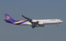 hs-tgjさんが、スワンナプーム国際空港で撮影したタイ国際航空 A340-541の航空フォト(飛行機 写真・画像)