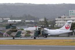 くーぺいさんが、喜界空港で撮影した航空自衛隊 CH-47J/LRの航空フォト(飛行機 写真・画像)