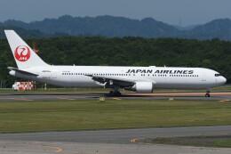 N.tomoさんが、釧路空港で撮影した日本航空 767-346/ERの航空フォト(飛行機 写真・画像)