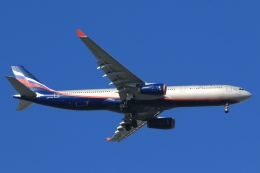 Hiro-hiroさんが、羽田空港で撮影したアエロフロート・ロシア航空 A330-343Xの航空フォト(飛行機 写真・画像)