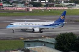 磐城さんが、台北松山空港で撮影したマンダリン航空 ERJ-190-100 IGW (ERJ-190AR)の航空フォト(飛行機 写真・画像)