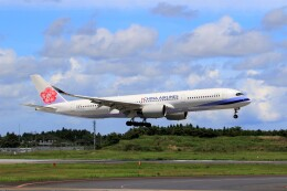 ☆ライダーさんが、成田国際空港で撮影したチャイナエアライン A350-941の航空フォト(飛行機 写真・画像)