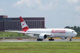 SGR RT 改さんが、成田国際空港で撮影したオーストリア航空 777-2Z9/ERの航空フォト(飛行機 写真・画像)