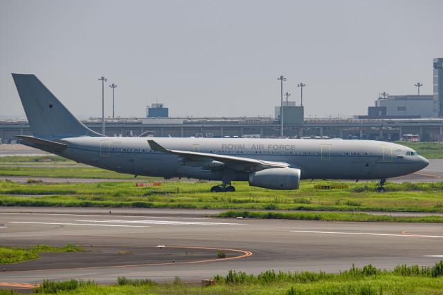 kuraykiさんが、羽田空港で撮影したイギリス空軍 A330-243/MRTTの航空フォト(飛行機 写真・画像)
