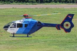 西風さんが、大館能代空港で撮影した中日新聞社 EC135P2の航空フォト(飛行機 写真・画像)