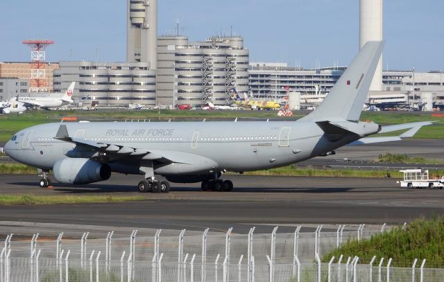 チャレンジャーさんが、羽田空港で撮影したイギリス空軍 A330-243/MRTTの航空フォト(飛行機 写真・画像)