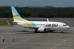 N.tomoさんが、釧路空港で撮影したAIR DO 737-781の航空フォト(飛行機 写真・画像)