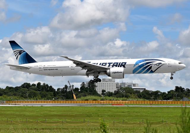 航空フォト:SU-GDN エジプト航空 777-300