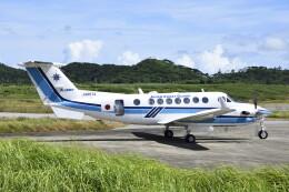 急行羽黒さんが、石垣空港で撮影した海上保安庁 B300の航空フォト(飛行機 写真・画像)
