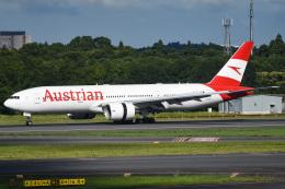 renseiさんが、成田国際空港で撮影したオーストリア航空 777-2Z9/ERの航空フォト(飛行機 写真・画像)