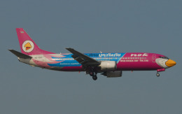 hs-tgjさんが、スワンナプーム国際空港で撮影したノックエア 737-4D7の航空フォト(飛行機 写真・画像)