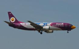 航空フォト:HS-TDB ノックエア 737-400