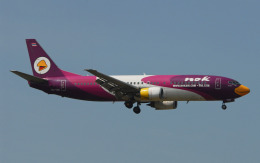 航空フォト:HS-TDA ノックエア 737-400