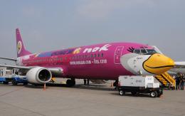 hs-tgjさんが、ドンムアン空港で撮影したノックエア 737-4D7の航空フォト(飛行機 写真・画像)