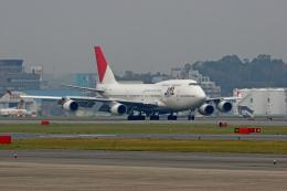tsubameさんが、福岡空港で撮影した日本航空 747-446の航空フォト(飛行機 写真・画像)