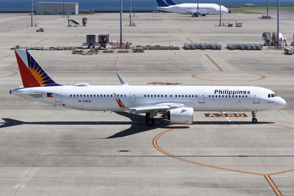 ドガースさんのフィリピン航空 Airbus A321neo (RP-C9936) 航空フォト