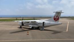 hachiさんが、奥尻空港で撮影した北海道エアシステム ATR-42-600の航空フォト(飛行機 写真・画像)