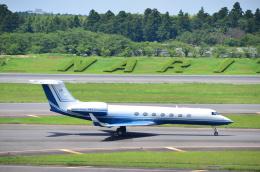 チョロ太さんが、成田国際空港で撮影した不明 G500/G550 (G-V)の航空フォト(飛行機 写真・画像)