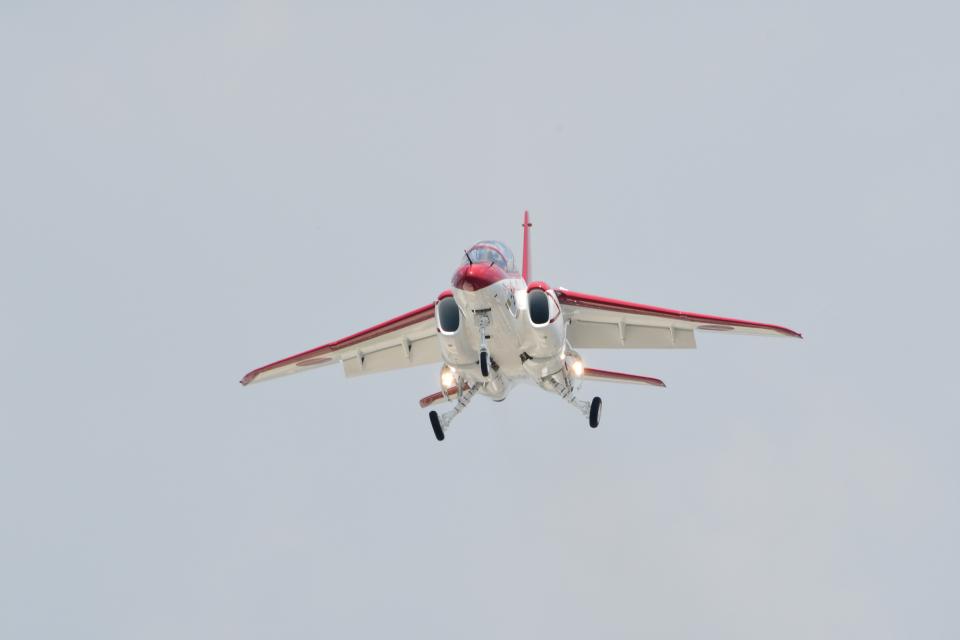 じょ~まんさんの航空自衛隊 Kawasaki T-4 (06-5640) 航空フォト