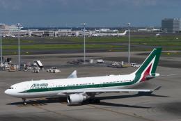 sakaki787さんが、羽田空港で撮影したアリタリア航空 A330-202の航空フォト(飛行機 写真・画像)
