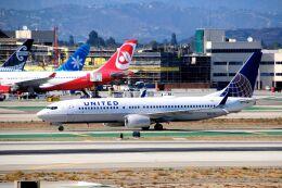 まいけるさんが、ロサンゼルス国際空港で撮影したユナイテッド航空 737-824の航空フォト(飛行機 写真・画像)