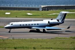 MSN/PFさんが、中部国際空港で撮影したユタ銀行 G-V-SP Gulfstream G550の航空フォト(飛行機 写真・画像)