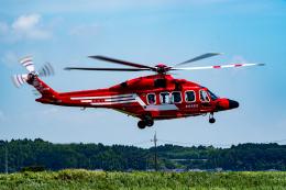 あけみさんさんが、龍ケ崎飛行場で撮影した東京消防庁航空隊 AW189の航空フォト(飛行機 写真・画像)