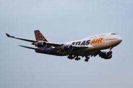 あっくんkczさんが、成田国際空港で撮影したアトラス航空 747-481の航空フォト(飛行機 写真・画像)