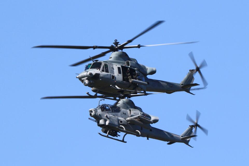 MH-38Rさんのアメリカ海兵隊 Bell AH-1 SeaCobra/SuperCobra (169504) 航空フォト