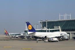Take51さんが、仁川国際空港で撮影したルフトハンザドイツ航空 747-430の航空フォト(飛行機 写真・画像)