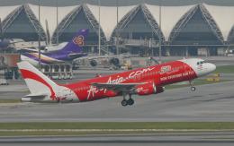 hs-tgjさんが、スワンナプーム国際空港で撮影したエアアジア A320-216の航空フォト(飛行機 写真・画像)