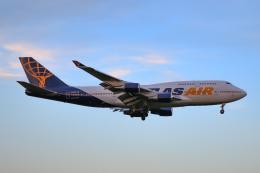 スカイチームKMJももこさんさんが、成田国際空港で撮影したアトラス航空 747-481の航空フォト(飛行機 写真・画像)
