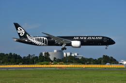 厦龙さんが、成田国際空港で撮影したニュージーランド航空 787-9の航空フォト(飛行機 写真・画像)