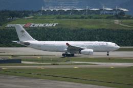 磐城さんが、クアラルンプール国際空港で撮影したサウディア A330-243の航空フォト(飛行機 写真・画像)