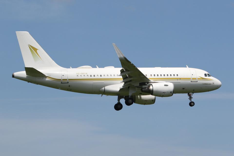 JETBIRDさんのスカイ・プライム Airbus A319 (HZ-SKY4) 航空フォト