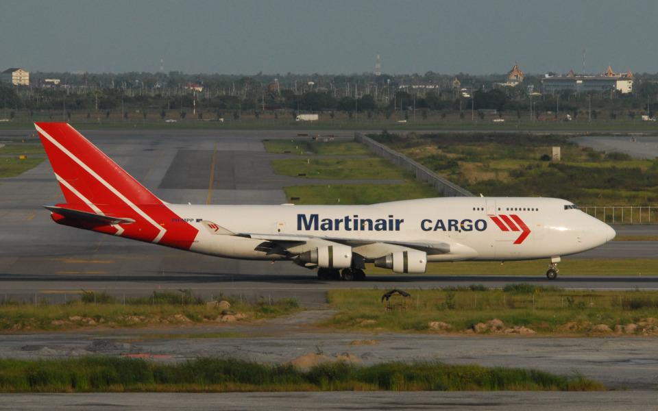 hs-tgjさんのマーティンエアー Boeing 747-400 (PH-MPP) 航空フォト