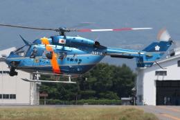 ゴンタさんが、松本空港で撮影した京都府警察 BK117C-1の航空フォト(飛行機 写真・画像)