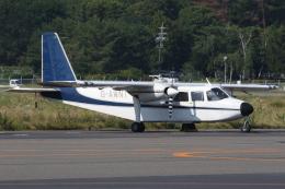 ゴンタさんが、松本空港で撮影したPrecision Terrain Surveys Ltd BN-2A Islanderの航空フォト(飛行機 写真・画像)