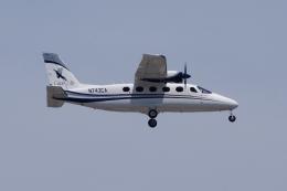 zettaishinさんが、ジェネラル・エドワード・ローレンス・ローガン国際空港で撮影したケープ・エア P2012 Travellerの航空フォト(飛行機 写真・画像)