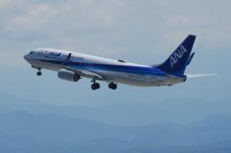 yabyanさんが、小松空港で撮影した全日空 737-8ALの航空フォト(飛行機 写真・画像)