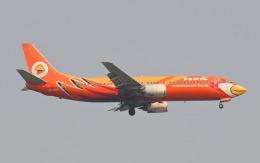 hs-tgjさんが、ドンムアン空港で撮影したノックエア 737-4S3の航空フォト(飛行機 写真・画像)