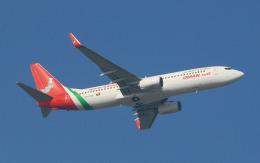 hs-tgjさんが、スワンナプーム国際空港で撮影したオマーン航空 737-86Nの航空フォト(飛行機 写真・画像)